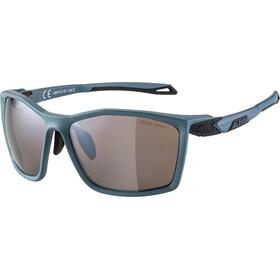 Alpina Twist Five HM+ Glasses, dirt blue matt/black mirror